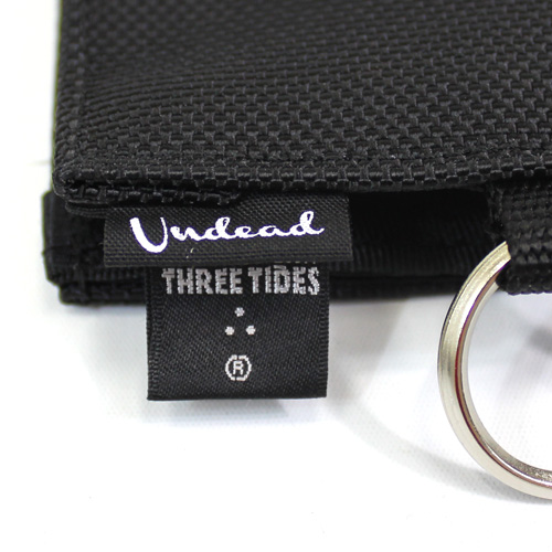 UNDEAD x THREE TIDES TATTOO 'DOUBLE NAME' COIN & CARD HOLDER